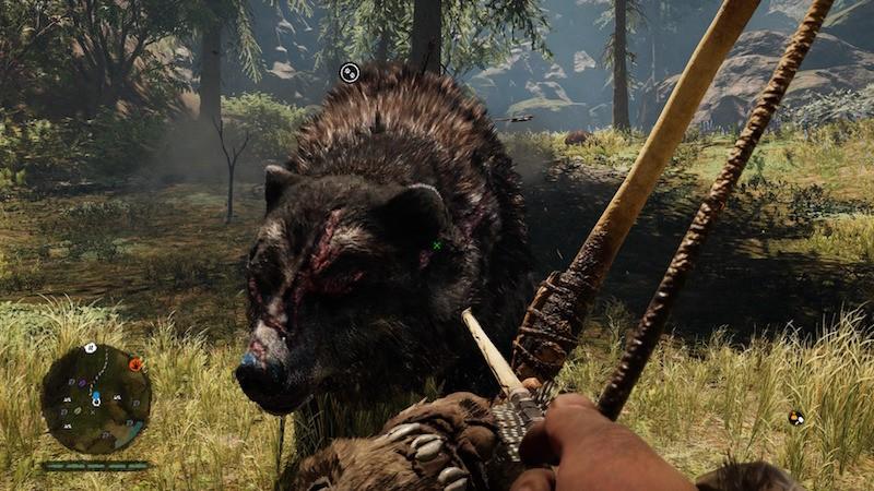 far cry primal niedźwiedź