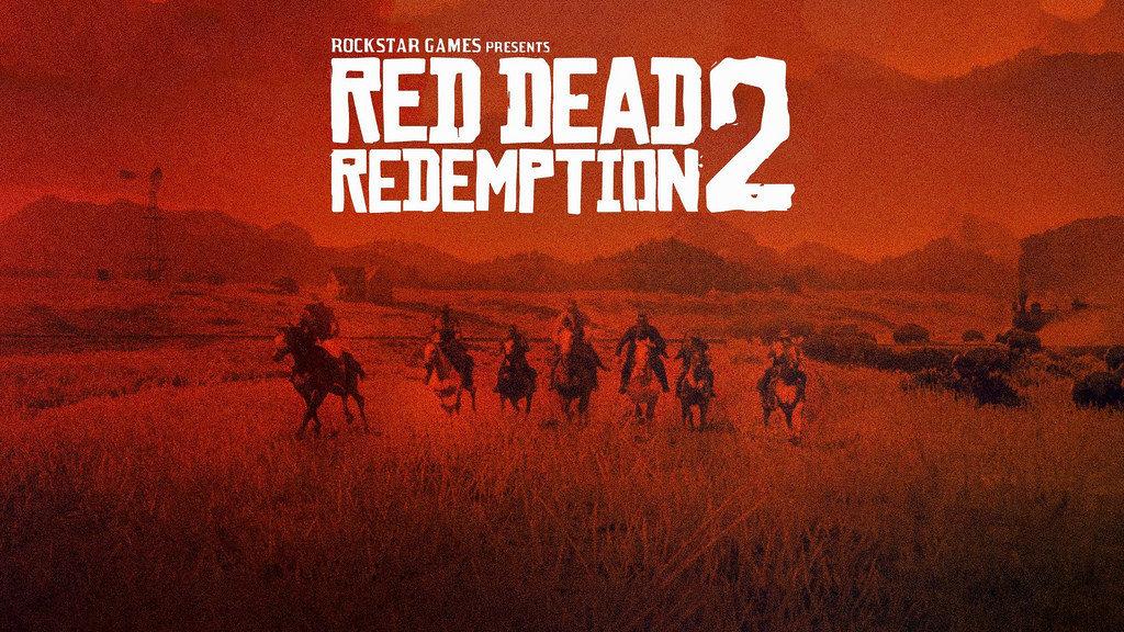 red dead redemption 2 plansza tytułowa